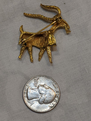 Billy Goat Brooch