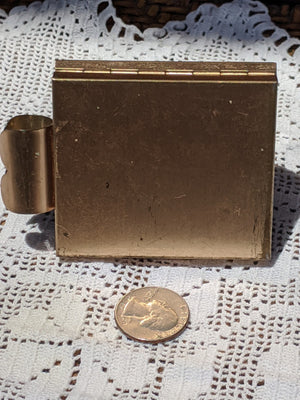 Coffee Break Vintage Make-up Compact