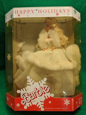 Happy Holidays Special Edition Barbie 1989