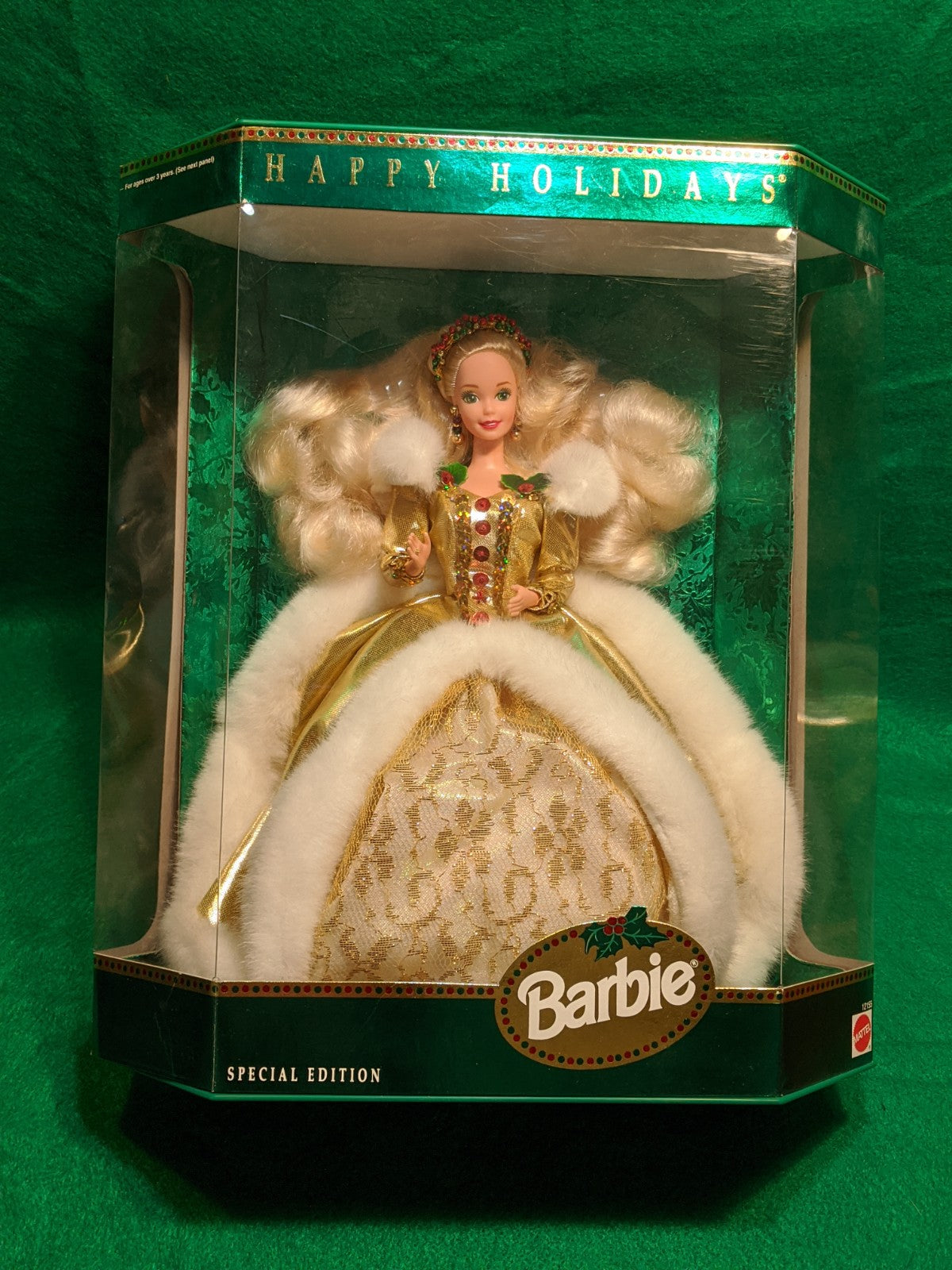 Happy Holidays Special Edition Barbie 1994