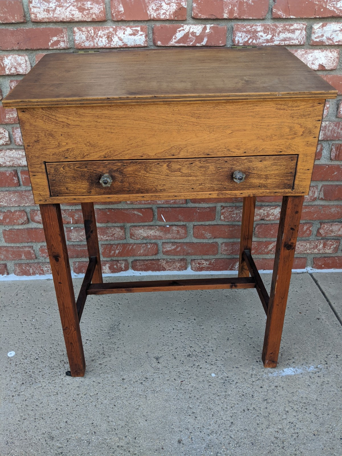 Antique wooden writer's desk