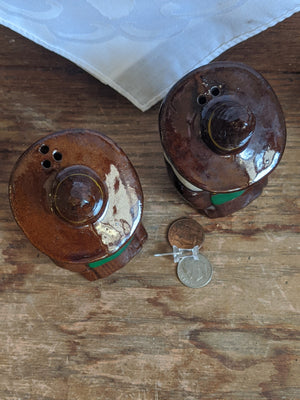 Vintage Mexican Siesta salt & pepper shakers