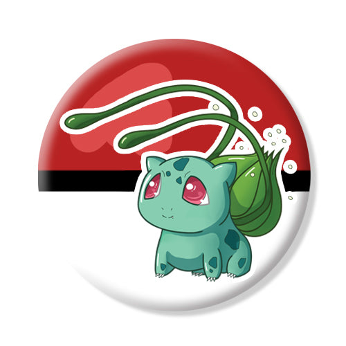Button/Magnet Bulbasaur