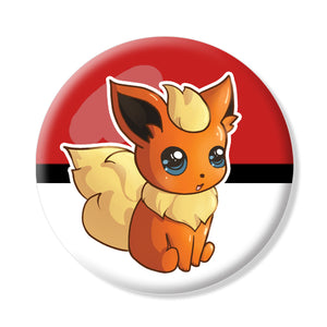 Button/Magnet Flareon