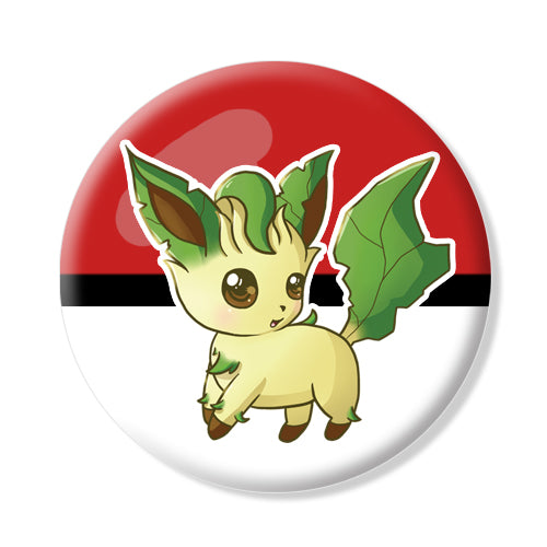 Button/Magnet Leafeon