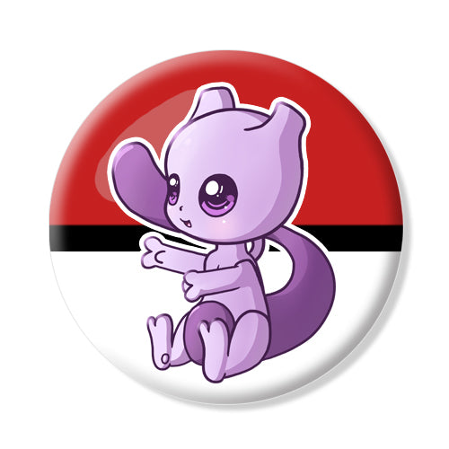 Button/Magnet Mewtwo