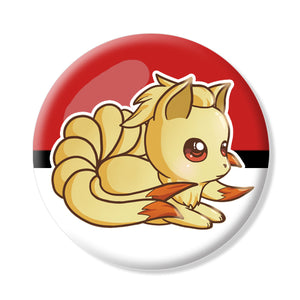 Button/Magnet Ninetales