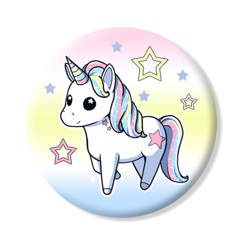 Button/Magnet Unicorn