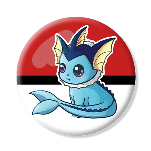 Button/Magnet Vaporeon