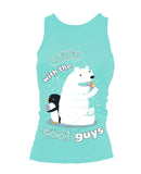 Cool Guys Tank Top Girlie