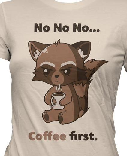 Coffee Shirt Girlie
