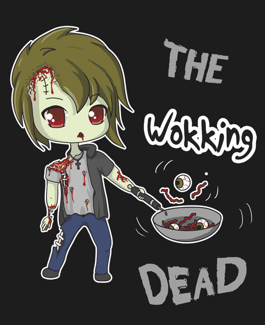 Wokking Dead Shirt Normal