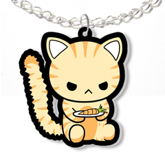 Angry Cat Necklace