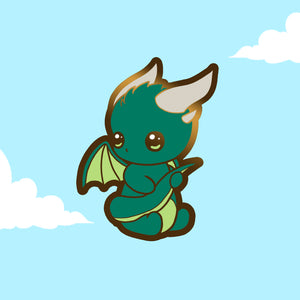 PRE-ORDER Dragon mini enamel pin