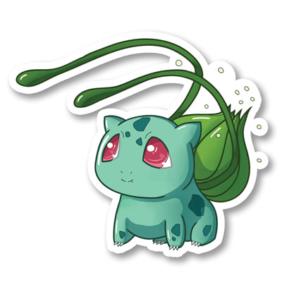 Sticker Bulbasaur