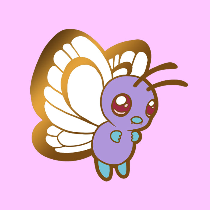 PRE-ORDER Butterfree enamel pin (pin club)