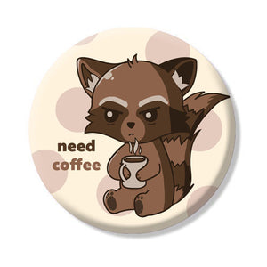 Button/Magnet Coffee