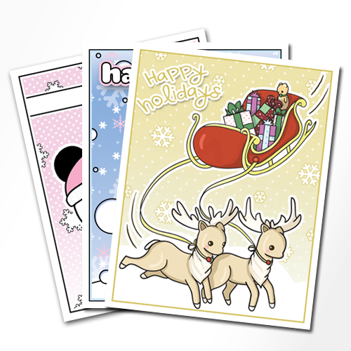 Holiday cards 24 pack