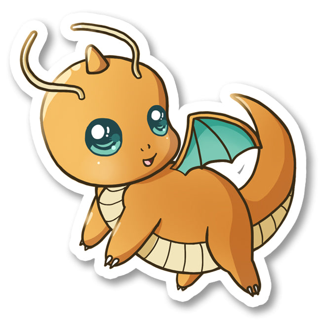 Sticker Dragonite