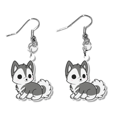 Husky Dog Earrings