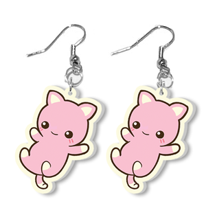 Cat Earrings Inui