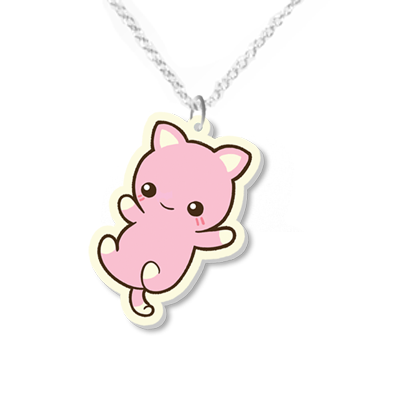Cat Necklace Small