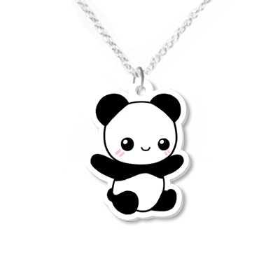 Panda Necklace Small