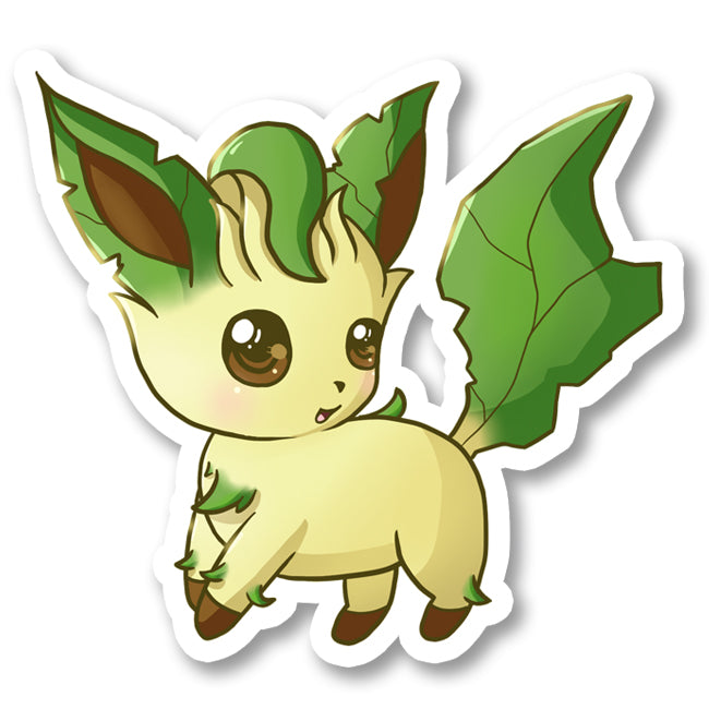 Sticker Leafeon