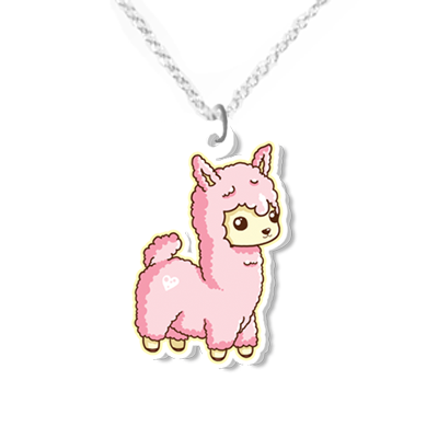 Llama necklace small