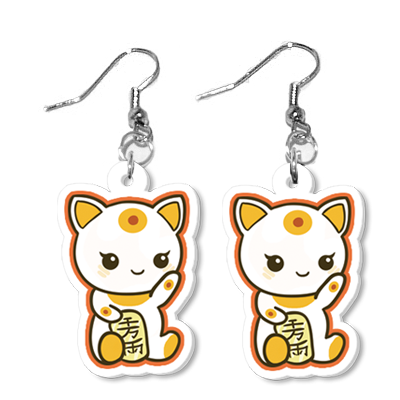 Maneki Earrings