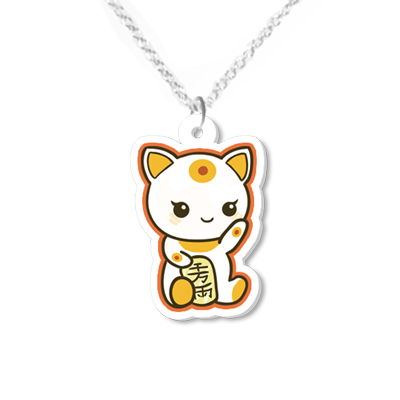 Maneki Necklace Small