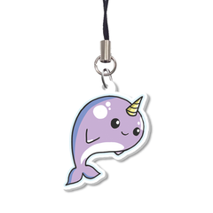 Narwhal Charm