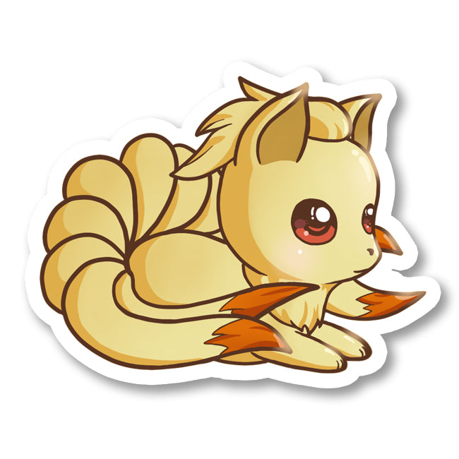Sticker Ninetales