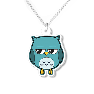 Owl Necklace Small