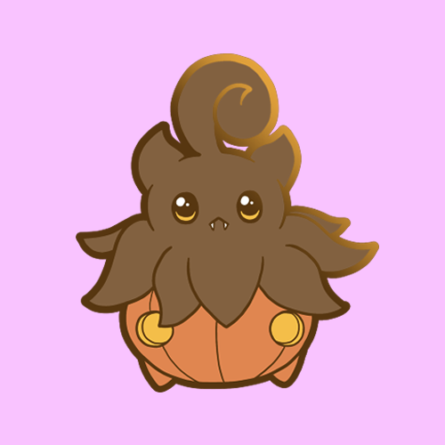 Pumpkaboo enamel pin (pin club)
