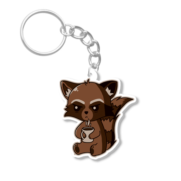 Raccoon Keychain