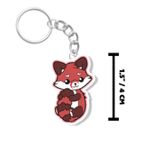Red Panda Keychain