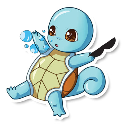 Sticker Squirtle