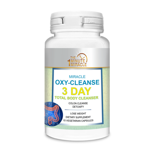 Total Body Cleanser - 3 Day Cleanser-?Miracle Oxy-Cleanse Detox and Colon Cleanser