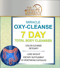 Miracle Oxy-Cleanse 7 DAY TOTAL BODY CLEANSER