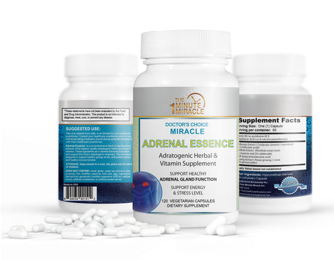 Miracle Adrenal Essence - Dr Choice's - 120 Capsules