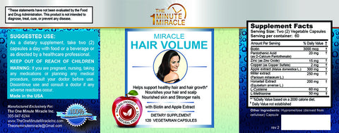 MIRACLE HAIR VOLUME