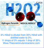 3% Food Grade H2O2 - 12 oz Bottle