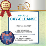Oxy-Cleanse Colon Cleanser Detox - SUPER VALUE 180 Vegetarian Capsules