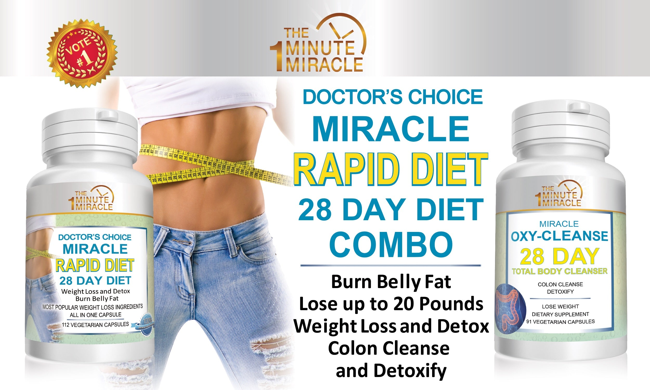 28 DAY DIET  COMBO - Lose Up To 20 Pounds