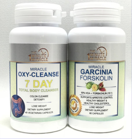 Oxy-Cleanse 7 DAY Total Body Cleanser and Garcinia Forskolin Extract