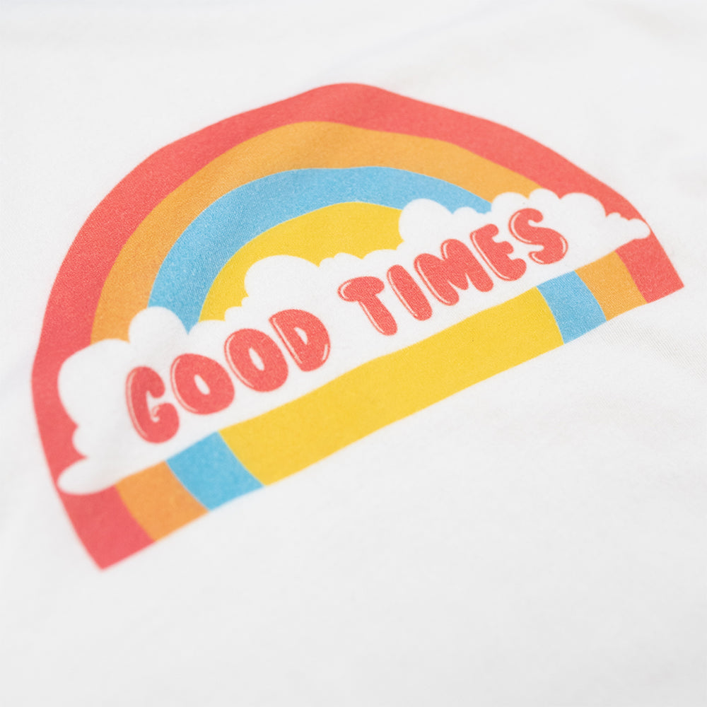 Dweegz: Good Times womens ringer tee