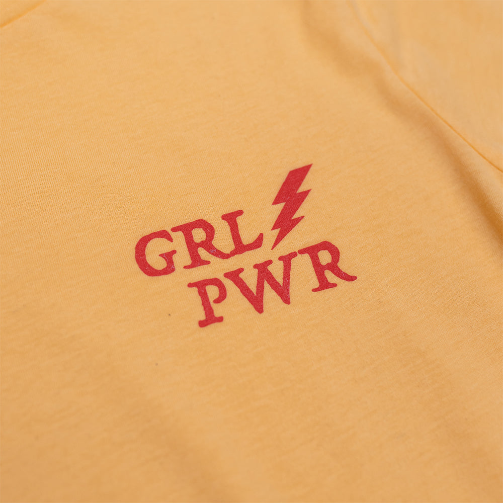 Dweegz: GRL PWR Yellow Adult Tee