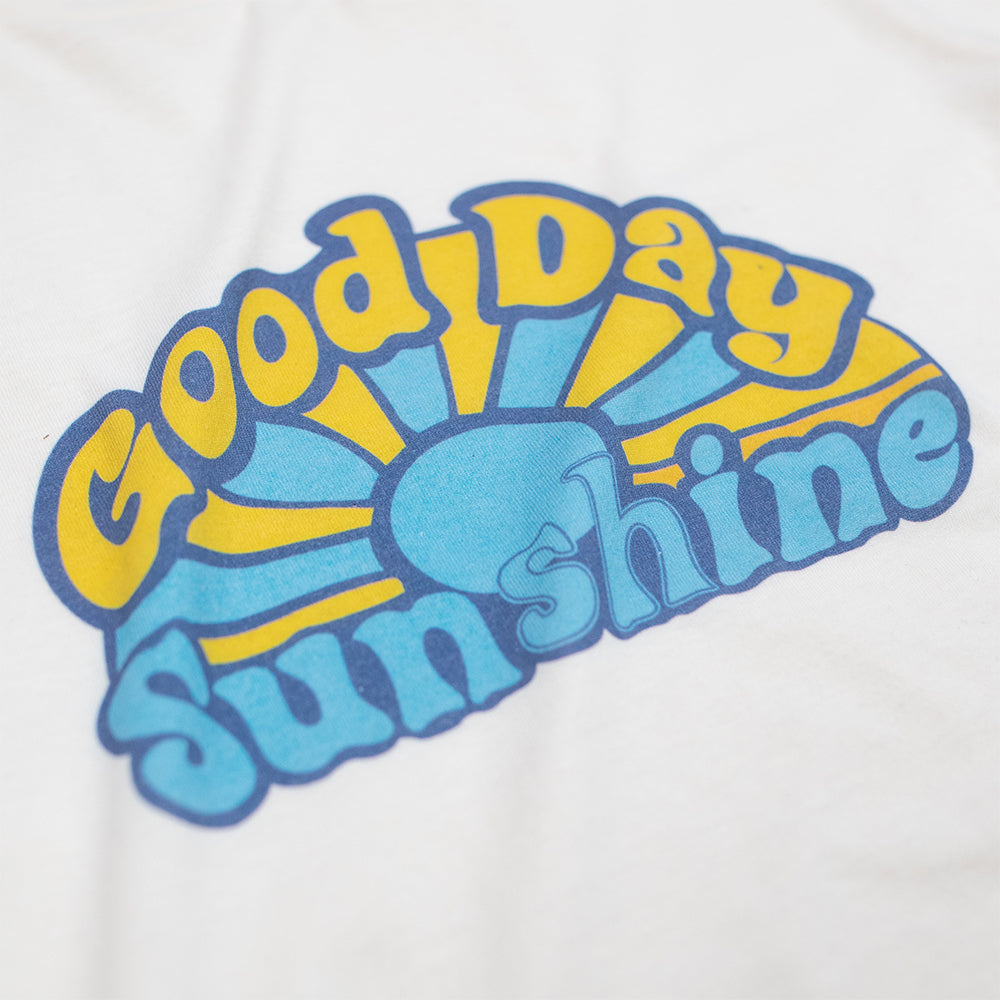 Dweegz: Good Day Sunshine women's short sleeve tee