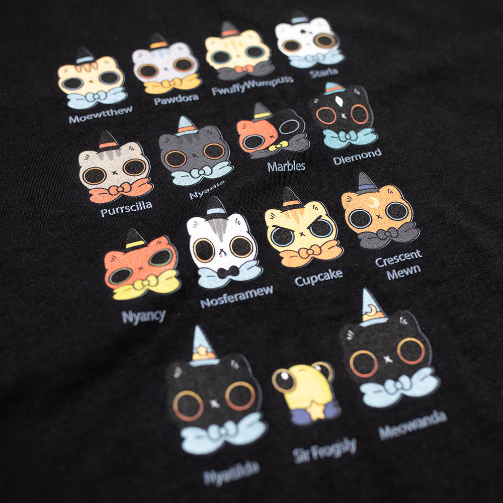 Heathersketcheroos: Kitteh Coven short sleeve tee